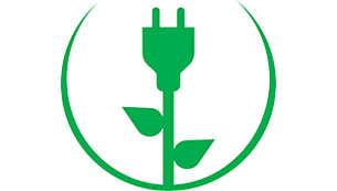Automatische uitschakeling in ecomodus voor energiebesparing van 28%