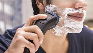 55 minutes of cordless shaving from a 1-hour charge
