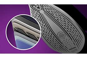 Žehliaca plocha SteamGlide Advanced, dokonalé kĺzanie a dlhá životnosť