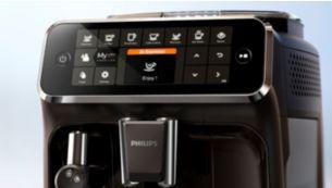 Легкий вибір кави з допомогою інтуїтивно зрозумілого дисплея