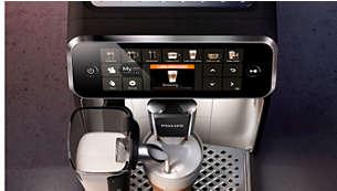 Hoogwaardige machine met een elegant design voor in uw keuken