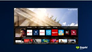 Saphi Smart TV. The smart way to enjoy your TV.