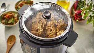Glass lid for cooking observation