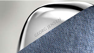 Tactile harmony. Georg Jensen polished-steel elements