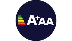 Leistungsstark mit EnergieeffizienzklasseA+AA