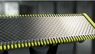 Få presise kanter og skarpe linjer med det dobbeltsidige knivbladet