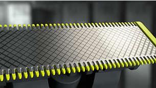 צור קצוות מדויקים וקווים חדים עם הלהב הדו-צדדי