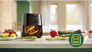 Gesund frittieren mit der Rapid Air Heißlufttechnologie