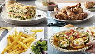 Gustose ricette Airfryer per uno stile di vita sano