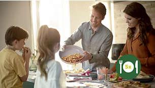 Taille XL pour toute la famille