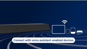 Connects to your favorite voice assistant-enabled devices