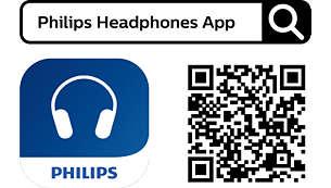 Philips Headphones app. Customize your experience