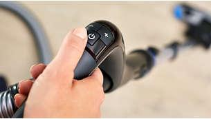 ErgoGrip z daljinskim upravljalnikom omogoča enostavno manevriranje