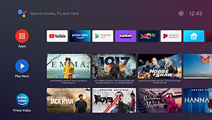 Indbygget Android TV