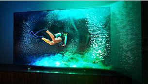Znakomity obraz na dużym ekranie. Telewizor MiniLED.