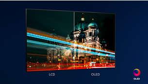 Lebensechte Bilder. Philips OLEDTV.