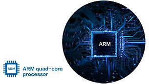 Bộ xử lý lõi tứ ARM: Đảm bảo hệ thống chạy ổn định