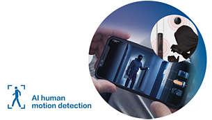 Phát hiện chuyển động của con người bằng AI: