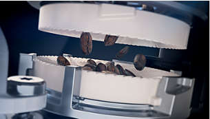 20000 tases izcilas kafijas, pateicoties keramiskajām dzirnaviņām