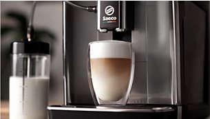 LattePerfetto biezām piena putām ar smalku tekstūru