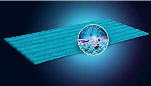 洁净涂层可防止布料滋生细菌*2