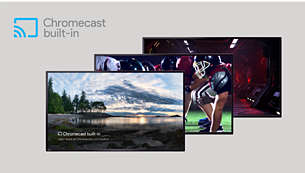 Chromecast — Put your small screen on your big screen
