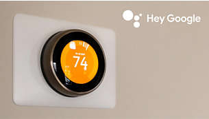 Control your compatible smart home devices