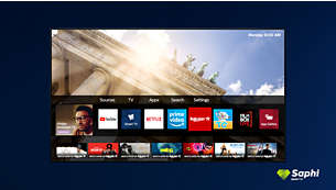 The smart way to enjoy your TV. SAPHI