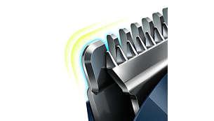 Thiết kế răng tròn đảm bảo chăm sóc da đầu