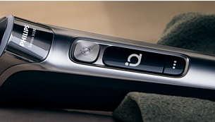 OLED 显示屏,提供动态 SkinIQ 和剃须刀通知