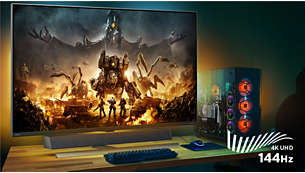 4K / 144Hz PC gaming on the big screen