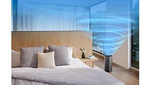 Performanţă superioară potrivită pentru încăperi de până la 39 m²