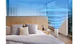 Vysoký výkon vhodný pro místnosti orozloze až 48m²