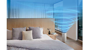 High performance suitable for rooms of up to 62 m²