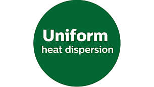 UHD Design (Uniform heat dispersion)