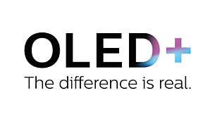 La differenza è evidente. TV Philips OLED+ con HDR.