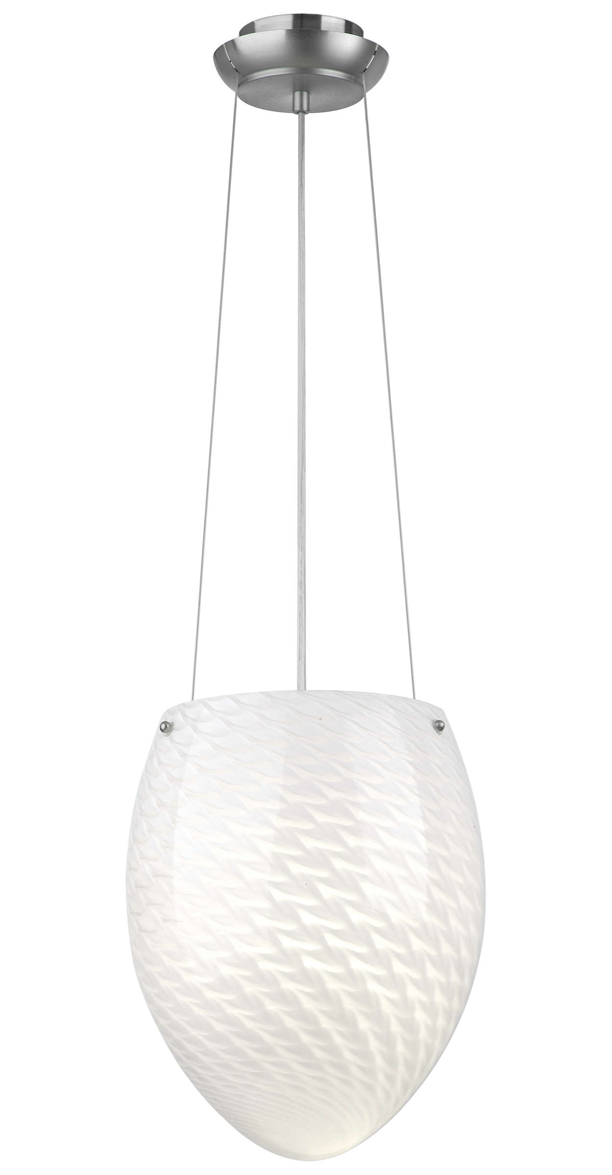 Margaret 1-light Pendant in Satin Nickel finish
