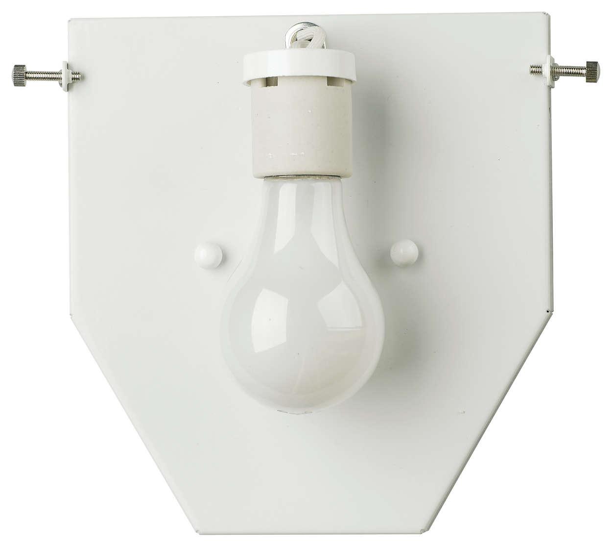 Madison 1-light Bath in White finish