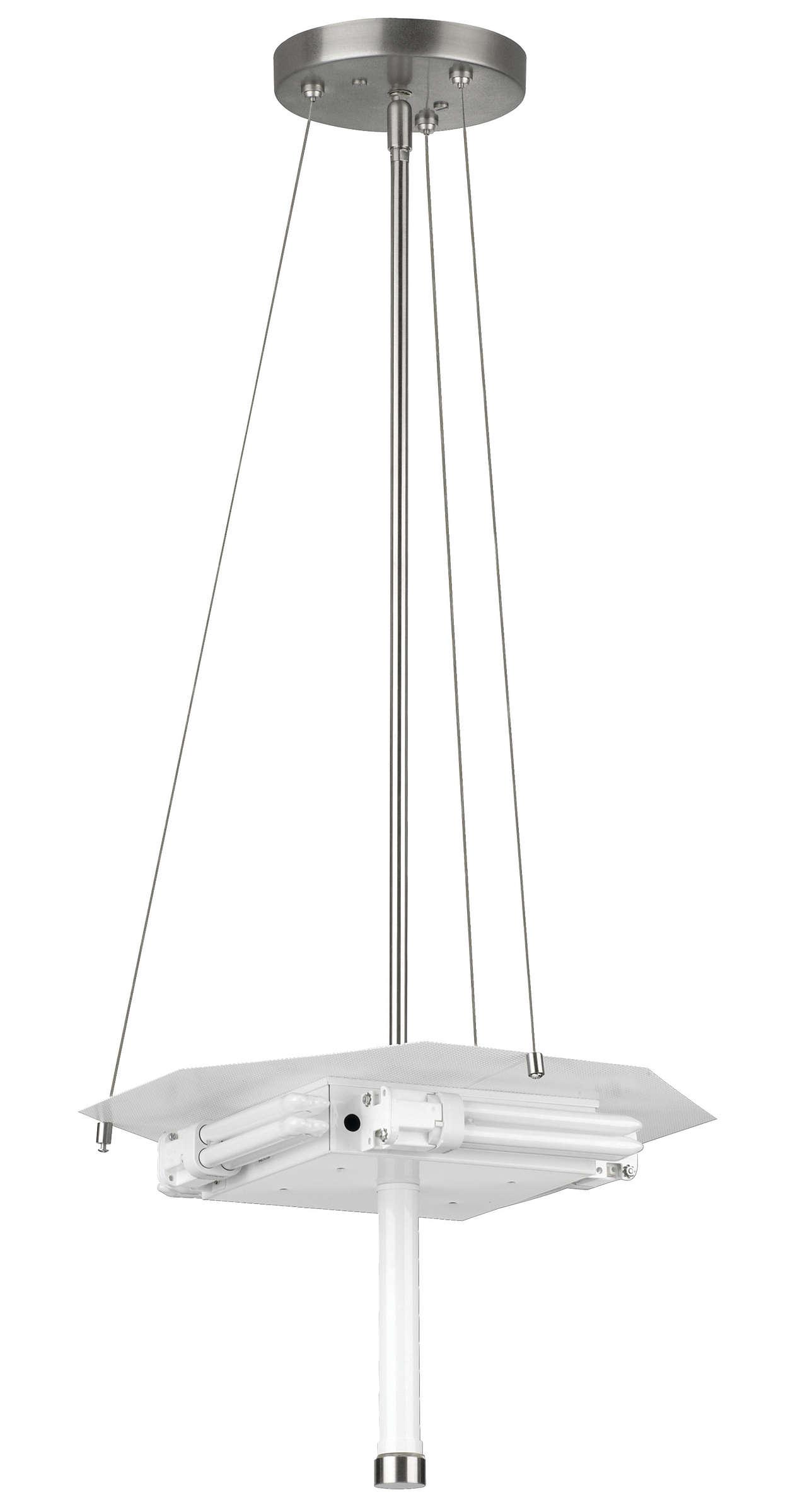 Taylor 4-light Pendant in Satin Nickel finish