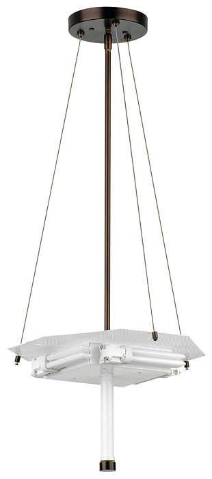 Taylor 4-light Pendant in Merlot Bronze finish