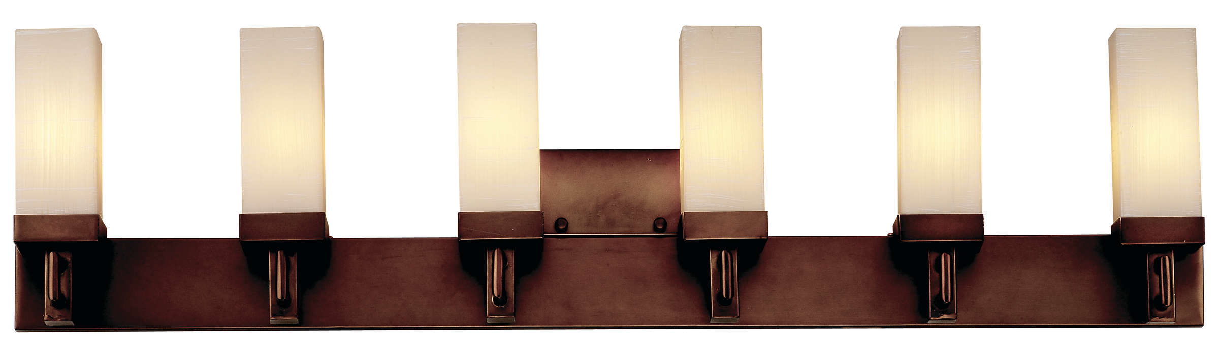 Casa 6-light Bath in Merlot Bronze finish