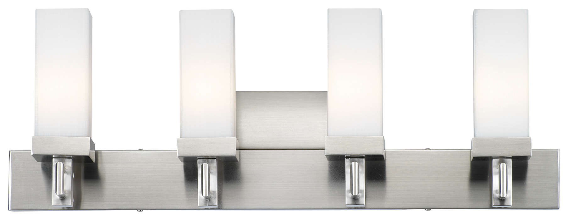 Casa 4-light Bath in Satin Nickel finish