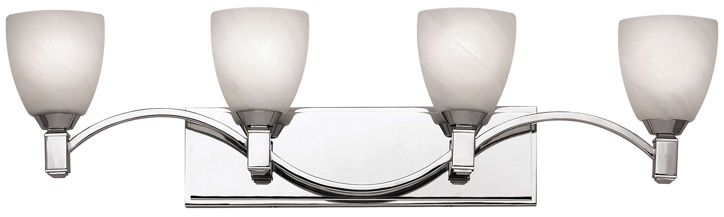 Crescendo 4-light Bath in Chrome finish
