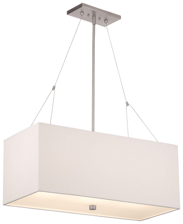 Alexis 3-light Pendant in Satin Nickel finish