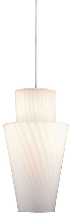 Daydream 1-light Pendant in Matte White finish