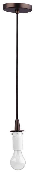 Suspension 1-light Pendant in Merlot Bronze finish
