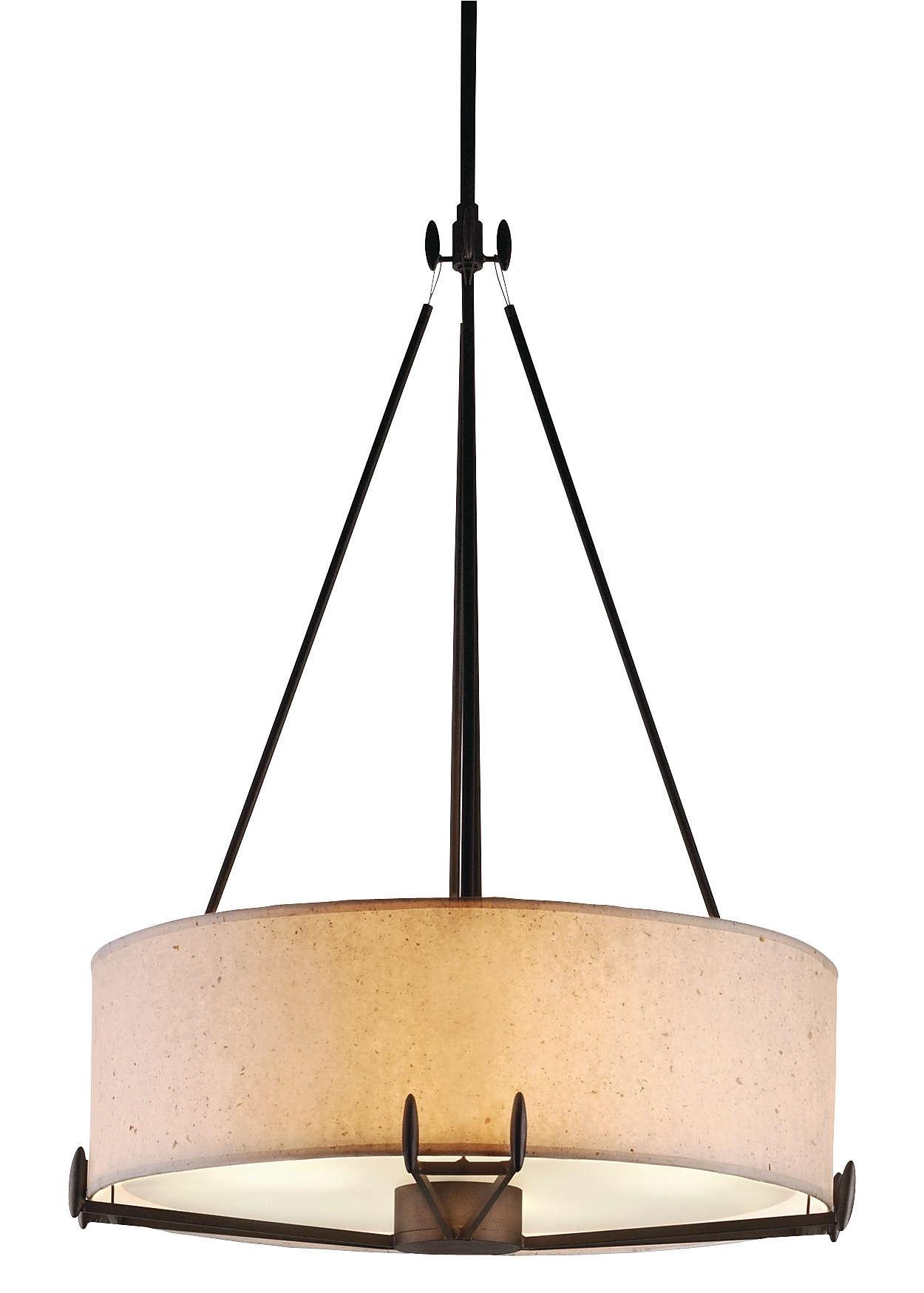Urban Oasis 4-light Pendant, Bronze Luster finish