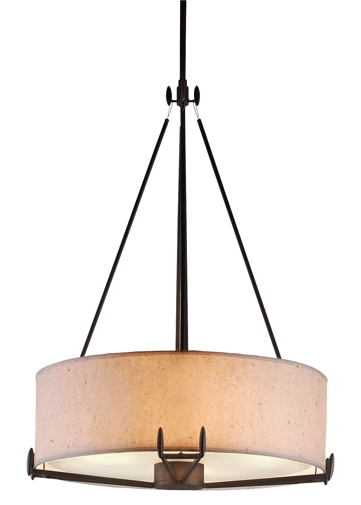 Urban Oasis 2-light Pendant, Bronze Luster finish