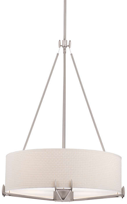 Urban Oasis 4-light Pendant in Satin Nickel finish