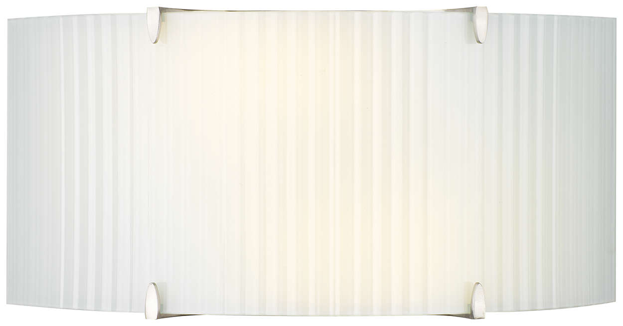 Edge 2-light Wall in Satin Nickel finish